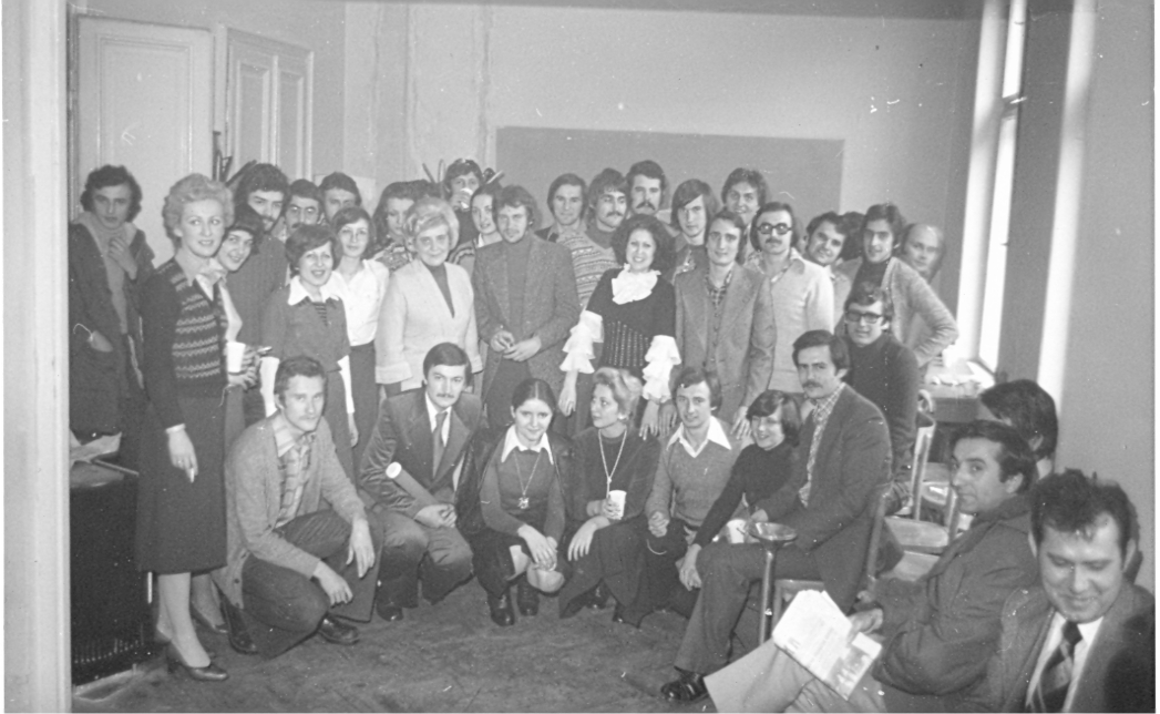 Studenti Instituta 1976.